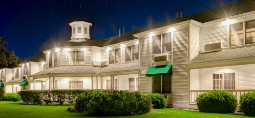 The Ashbrooke Hotel at night