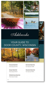 Request Your Free Door County Vacation Guide The Ashbrooke